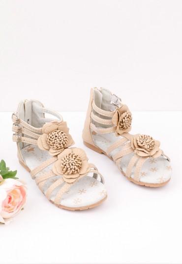 Sandałki beżowe Adelinde