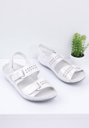Sandały srebrne 7 Jochen