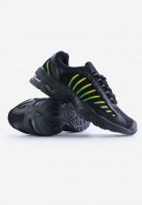 Buty sportowe czarno zielone10 Franc
