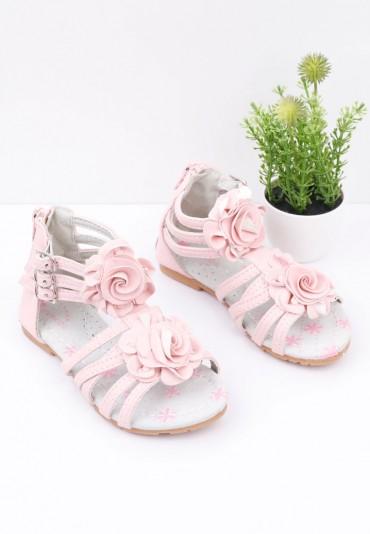 Sandałki  jasno różowe Adelinde