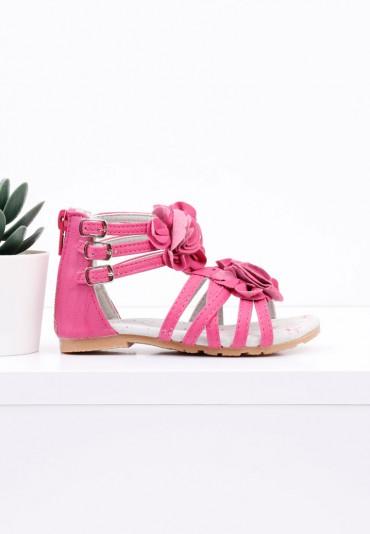 Sandałki różowe Adelinde