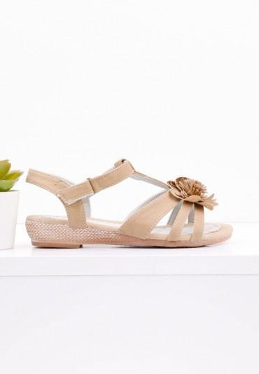 Sandałki beżowe Falk