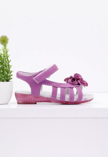 Sandałki fioletowe Anne