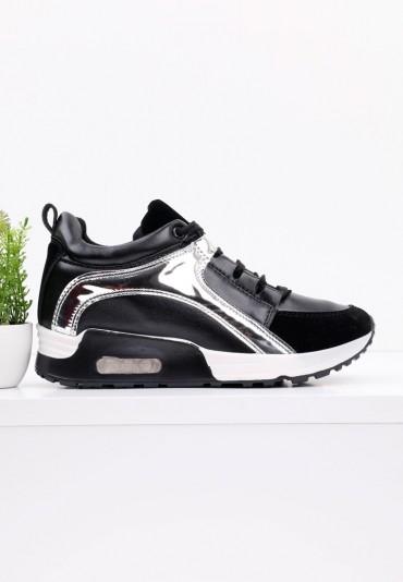 Sneakersy czarne 1 Gorman