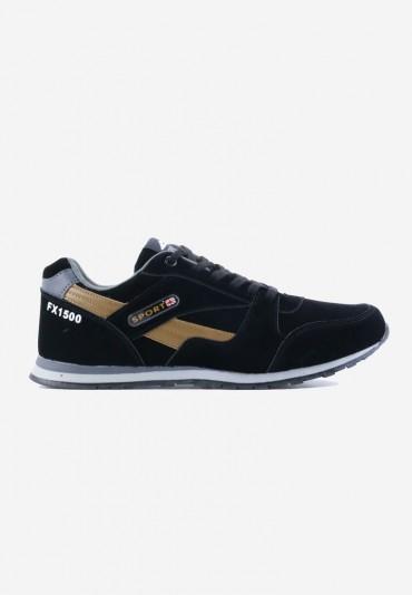Buty sportowe czarne 3 Marcel