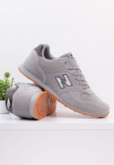 Buty sportowe Nadwymiar szare 2 Martell