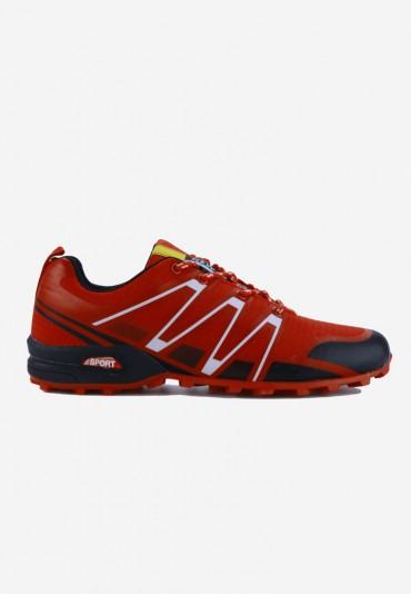 Buty sportowe czerwone1 Edmond