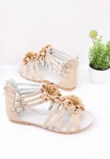 Sandałki beżowe Raban