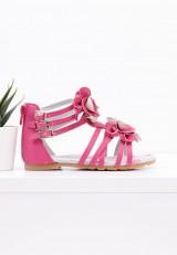 Sandałki różowe Raban