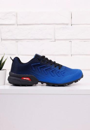 Buty sportowe czarno niebieskie 11 Renart