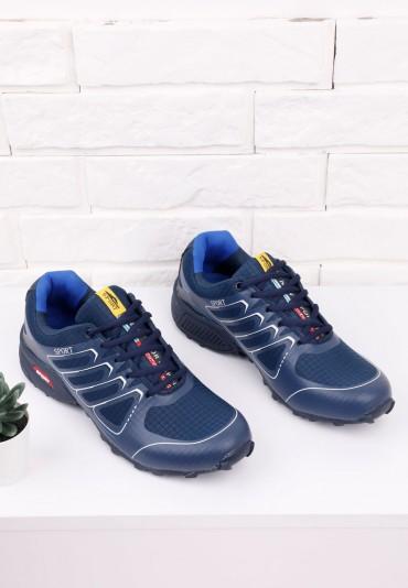 Buty sportowe granatowo niebieskie 5 Nicolas