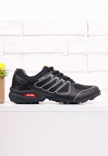 Buty sportowe czarne 6 Nicolas