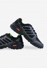 Buty sportowe czarno zielone 3 Nicolas