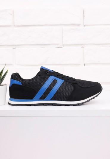 Buty sportowe czarno niebieskie 7 Arcuri