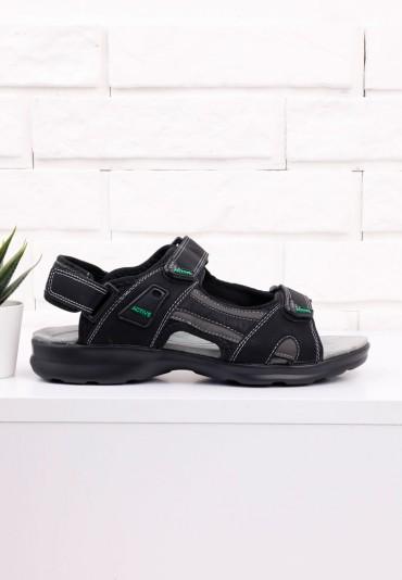 Sandały czarne 1 Gowon