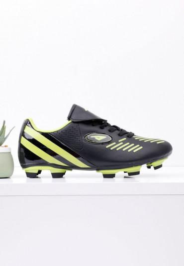 Buty piłkarskie korki czarno zielone 2 Meier
