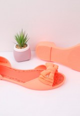 Balerinki meliski pomarańcz neon 9 Meino