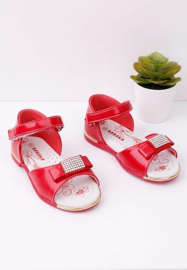 Sandałki czerwone Jeremius