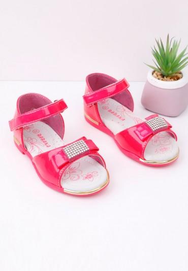 Sandałki różowe Jeremius
