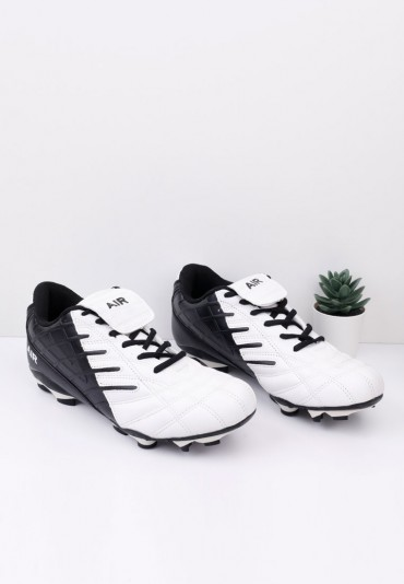 Buty sportowe korki piłkarskie czarno białe Blau