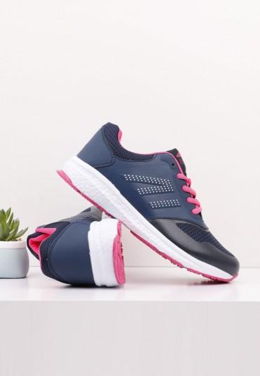 Buty sportowe granatowo różowe 4 Burke