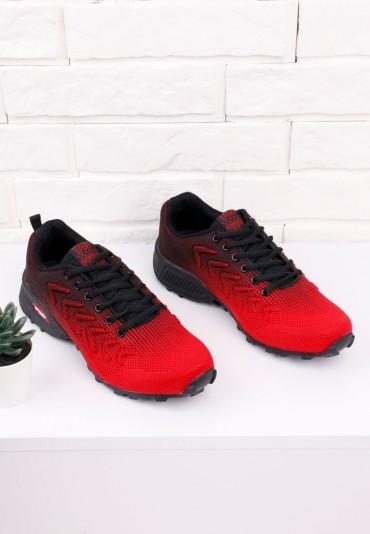 Buty sportow czerwono czarne 8 Renart