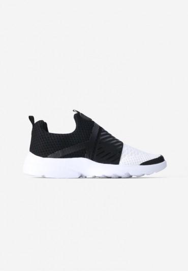 Buty soprtowe biało czarne 2  Tremblay