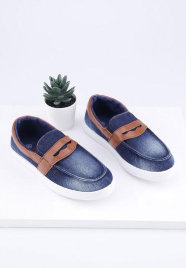 Mokasyny jeansowe 1D Vasiliy