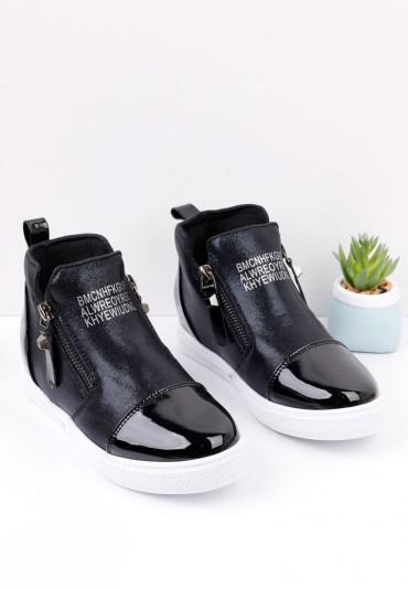 Sneakersy czarne 5 Lara