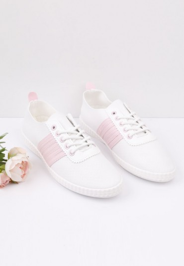 Trampki biało różowe 5 Katerina