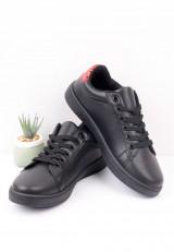 Buty sportowe czarno czerwone 3 Popo