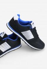 Buty sportowe czarno niebieskie 7 Duval