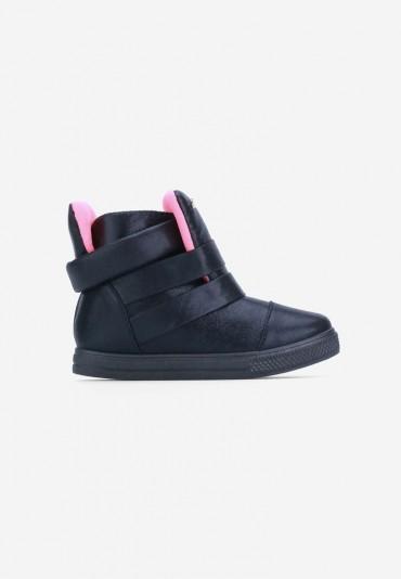 Sneakersy czarne Mancebo
