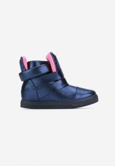 Sneakersy granatowe Mancebo