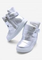 Sneakersy srebrne Danette