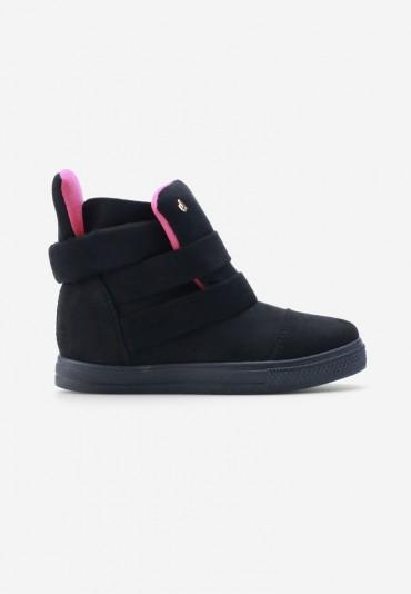 Sneakersy czarne Sandrine