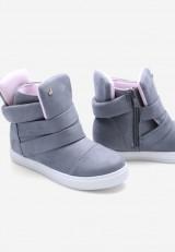 Sneakersy jasno szare 6 Laurent