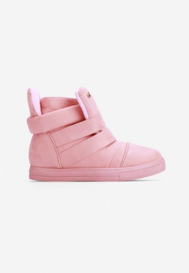 Sneakersy różowe Laurent