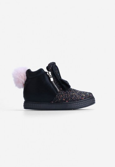 Sneakersy czarne 1 Émilie