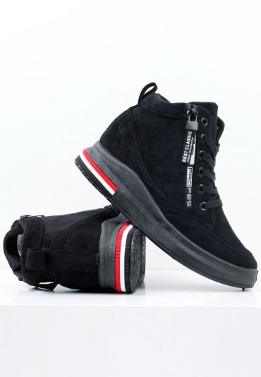 Sneakersy czarne 1 Borisova
