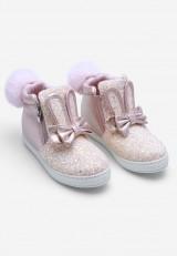 Sneakersy różowe 2 Émilie