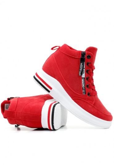 Sneakersy czerwone 17 Borisova