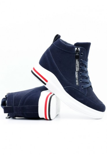 Sneakersy granatowe 18 Borisova