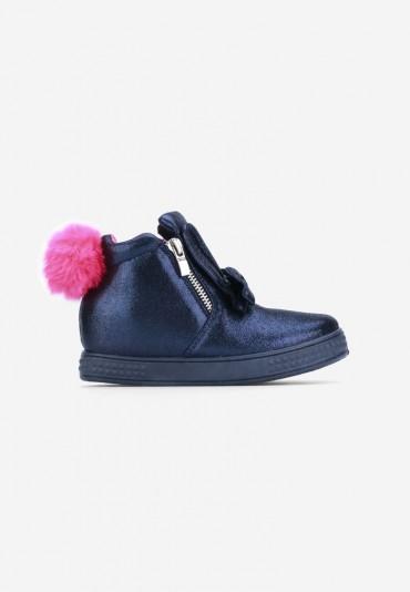 Sneakersy granatowe 3 Émilie