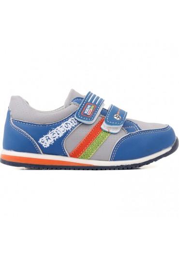 Buty sportowe szaro niebieskie Ivanov