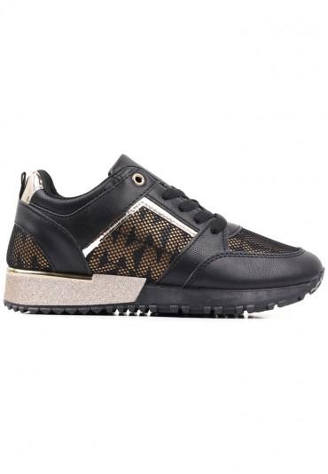 Sneakersy czarno złote 2 Shura