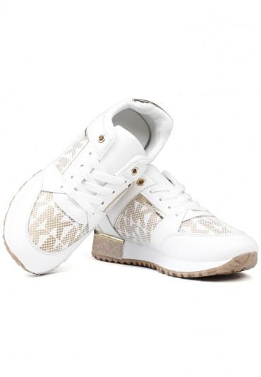 Sneakersy biało złote 5 Shura