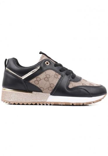 Sneakersy czarno złote 3 Kolya