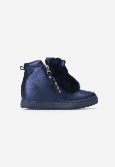 Sneakersy granatowe Lavigne