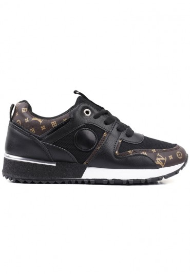 Sneakersy czarno złote 4 Kolya